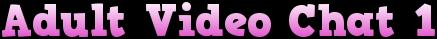 adultvideochat1.com